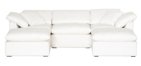 Large Sectional Sofa in 2 Colors of Crypton Fabric