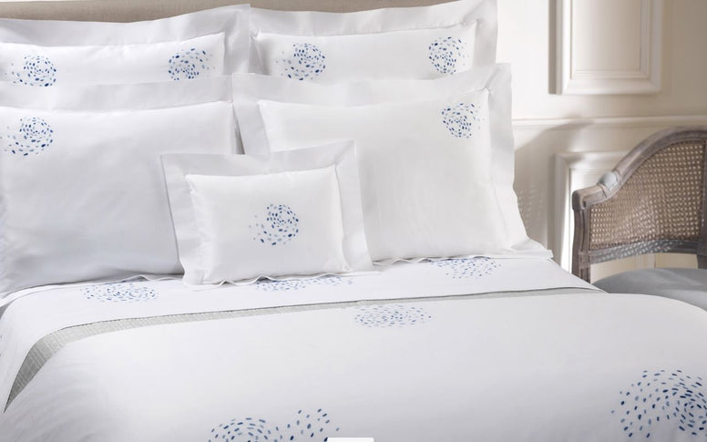 DEA Embroidered Linens; Solidea - Hamptons Furniture, Gifts, Modern & Traditional