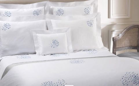 Copy of DEA Embroidered Linens; - Hamptons Furniture, Gifts, Modern & Traditional