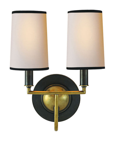 Traditional Double Sconce - Hamptons Furniture, Gifts, Modern & Traditional