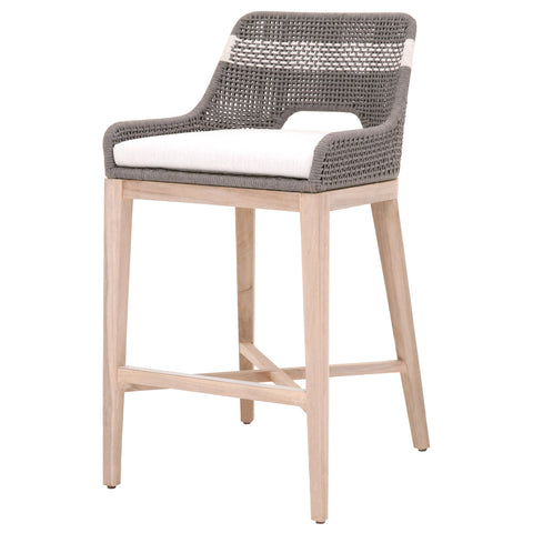 Counter or Bar Stool for Indoors or Out, with Mesh Back - Hamptons Furniture, Gifts, Modern & Traditional