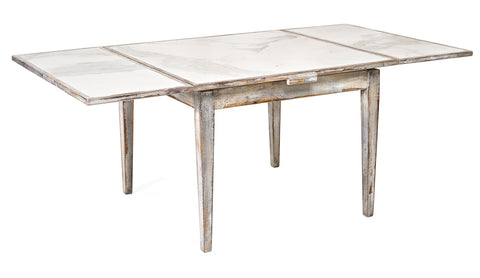 Extending Marble Dining Table