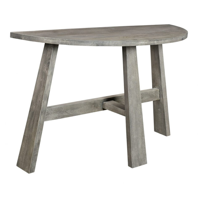 Grey Demi Lune Table - Hamptons Furniture, Gifts, Modern & Traditional