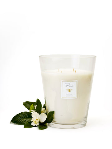 Jumbo Gardenia Candle with 4 wick