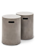 Cylinder Concrete Outdoor Stool or Side Table