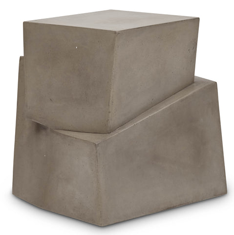 Unusual Concrete Side Table