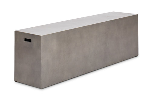 Long Modern Outdoor bench in two sizes
