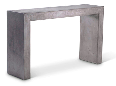 Modern Concrete Console Table