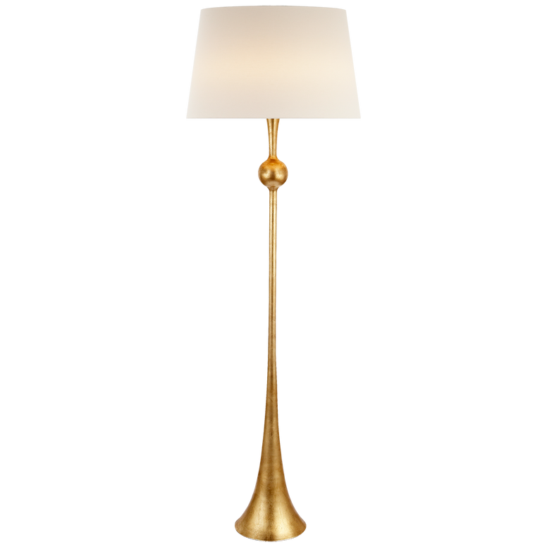 Gilded Floor Lamp - Hamptons Furniture, Gifts, Modern & Traditional