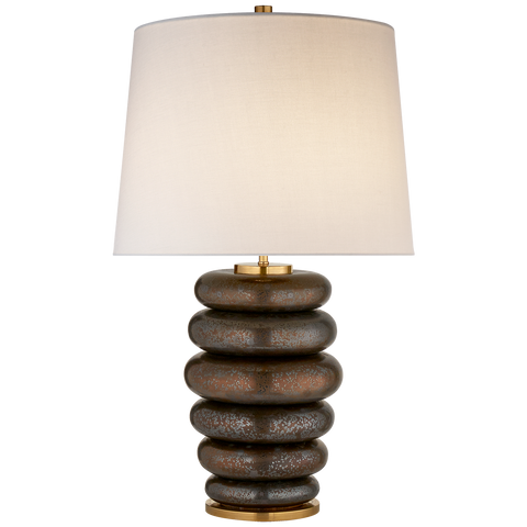 Stacked Stone lamp