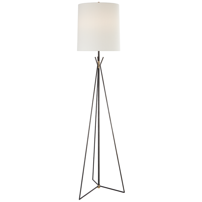 tripod floor lamp in bronze and brass - Hamptons Furniture, Gifts, Modern & Traditional