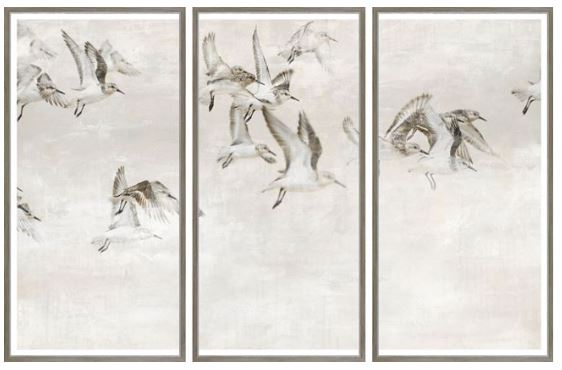 Sandpipers Triptych