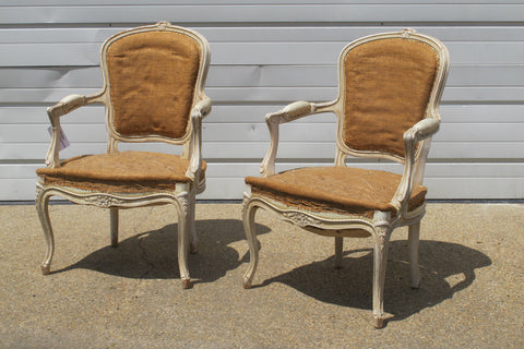 Louis XV Style Pair of Chairs