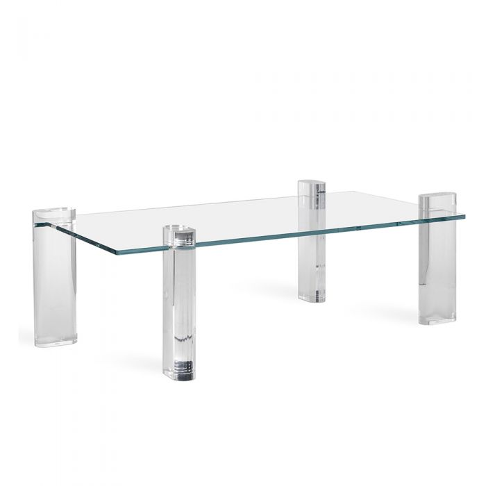 Glass and Acrylic Cocktail Table - Hamptons Furniture, Gifts, Modern & Traditional