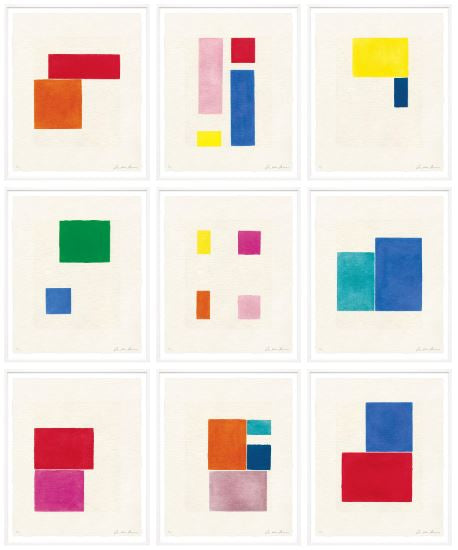 Modern Framed Colorful Abstract Prints