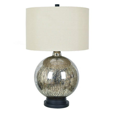 Mercury Ball Table Lamp