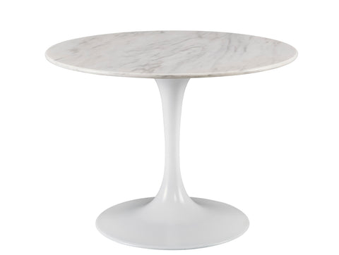 Round Dining Table with Marble Top - Hamptons Furniture, Gifts, Modern & Traditional