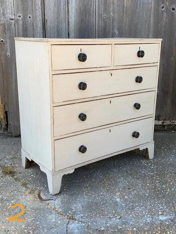 English Chests Of Drawers, with later painted finish - Hamptons Furniture, Gifts, Modern & Traditional