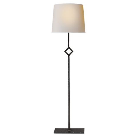 AGED IRON TABLE LAMP