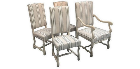 Ous de Mouton Style French Chairs