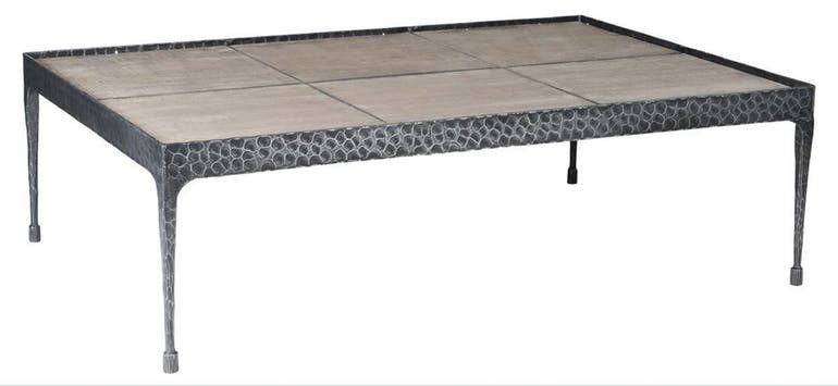 Iron And Pine Coffee Table