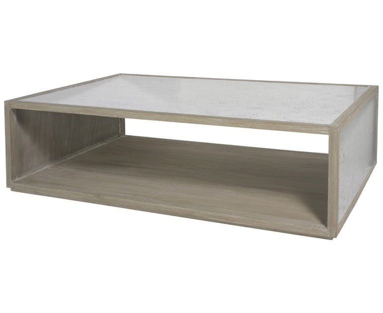 Mirrored Coffee Table English Country Home