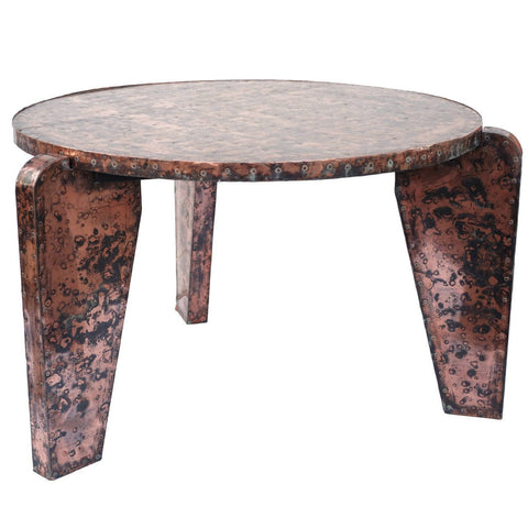 Unusual Copper Table - Hamptons Furniture, Gifts, Modern & Traditional