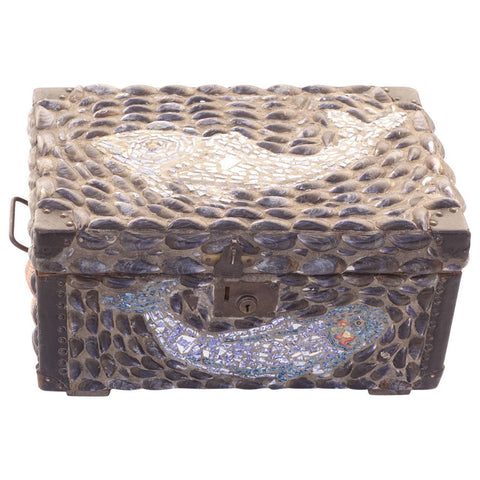 Folk Art Fish Case - Hamptons Furniture, Gifts, Modern & Traditional