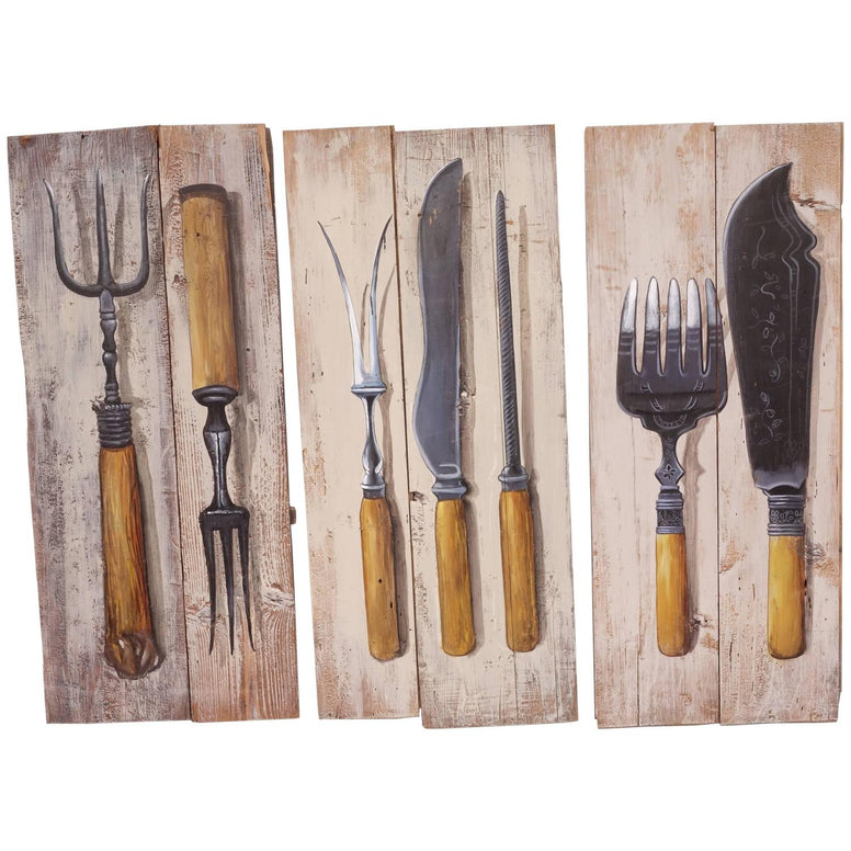 Rustic Utensil Paintings