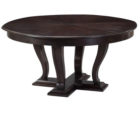 Modern Walnut Expanding Dining Table, Multiple Sizes