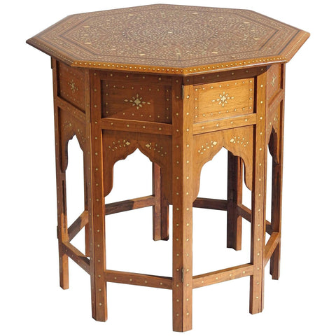 Kashmiri Side Table - Hamptons Furniture, Gifts, Modern & Traditional