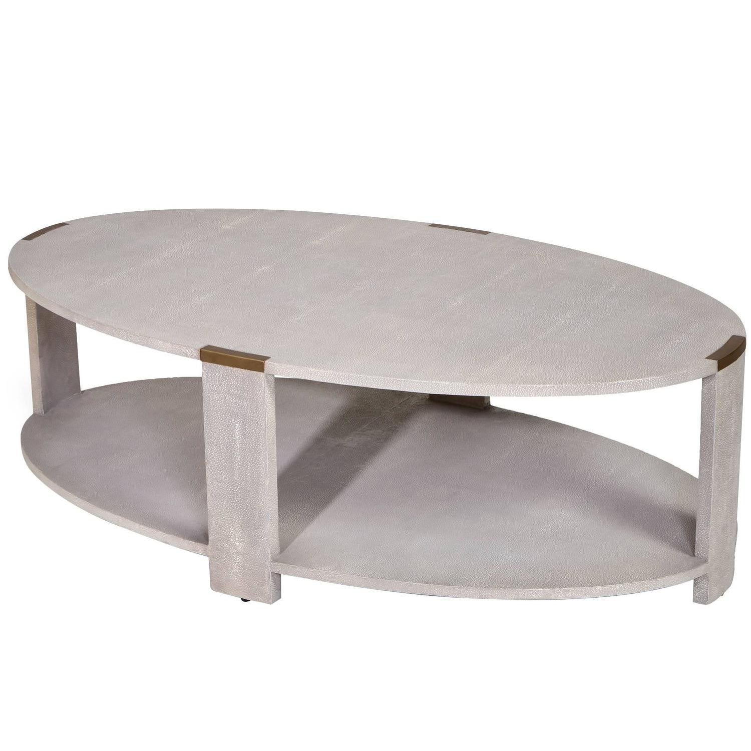Shagreen Cocktail Table – English Country Home