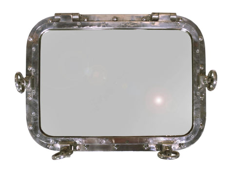 Marine Window Frame Mirror