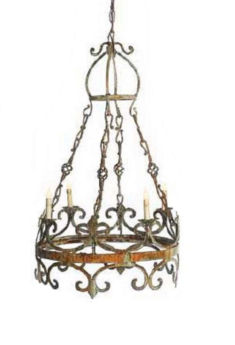Small venetian style chandelier english country home small venetian style chandelier aloadofball Image collections