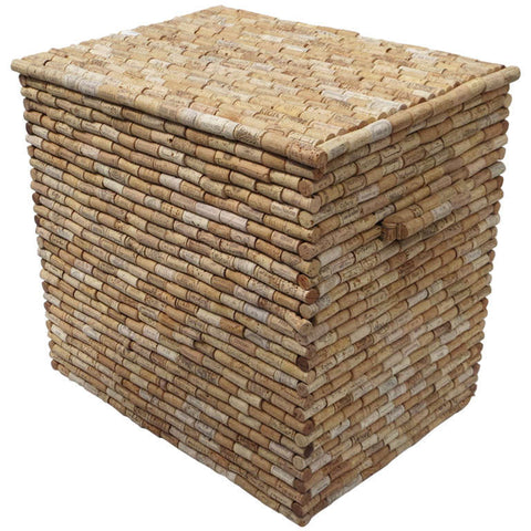 Cork Covered Box - Hamptons Furniture, Gifts, Modern & Traditional