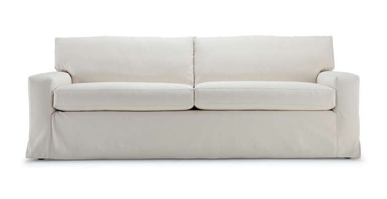 Modern Slipcovered Sofa Collection