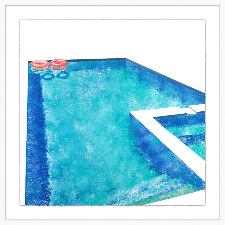 Modern Pool Print 1 - Hamptons Furniture, Gifts, Modern & Traditional