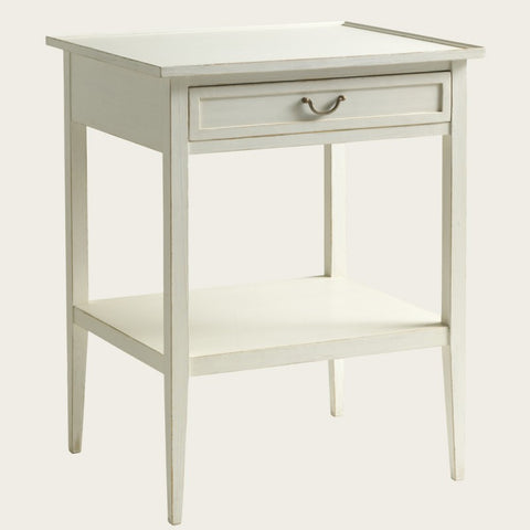 Painted Pine Nightstands, single drawer