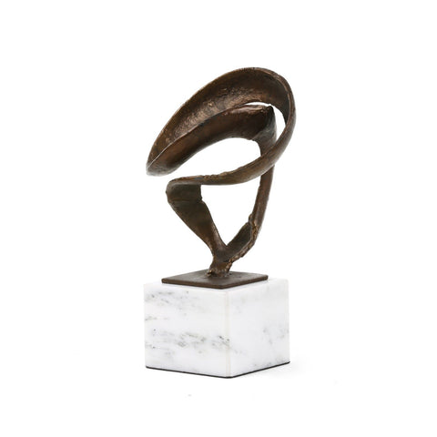 Bronze Ribbon Sculpture