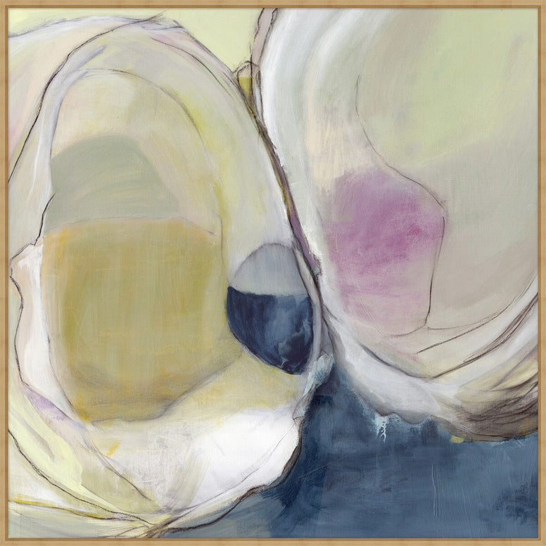Abstract Clam on Canvas