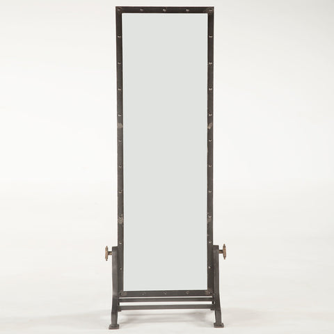 Industrial Style Floor Mirror - Hamptons Furniture, Gifts, Modern & Traditional