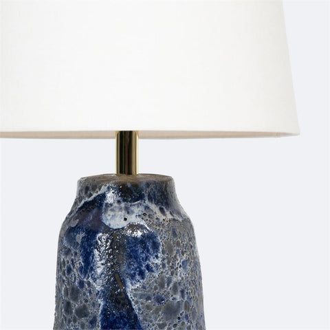 Hand made ceramic table lamp