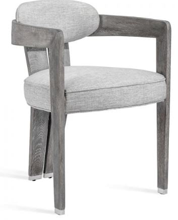 Grey Oak Dining Chairs - Hamptons Furniture, Gifts, Modern & Traditional