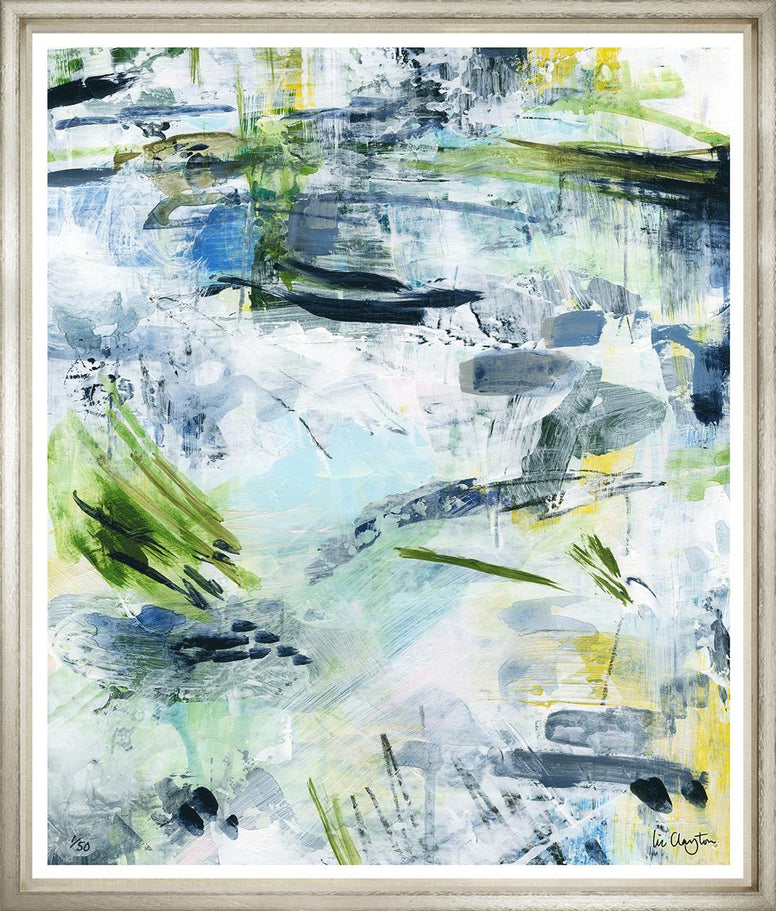 Painted Abstract Glicee Prints - Hamptons Furniture, Gifts, Modern & Traditional