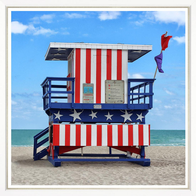 Miami Life Guard House Photo - Hamptons Furniture, Gifts, Modern & Traditional