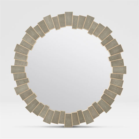 "Faux Shagreen Mirror 44 "" in three Colors"