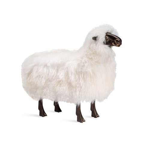 Lalanne inspired sheep seat, sculpture - Hamptons Furniture, Gifts, Modern & Traditional