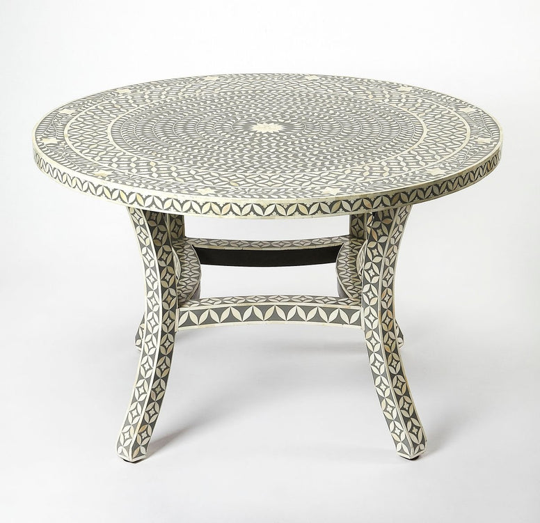 Bone Inlay Dining Table - Hamptons Furniture, Gifts, Modern & Traditional