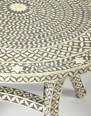 Bone Inlay Dining Table