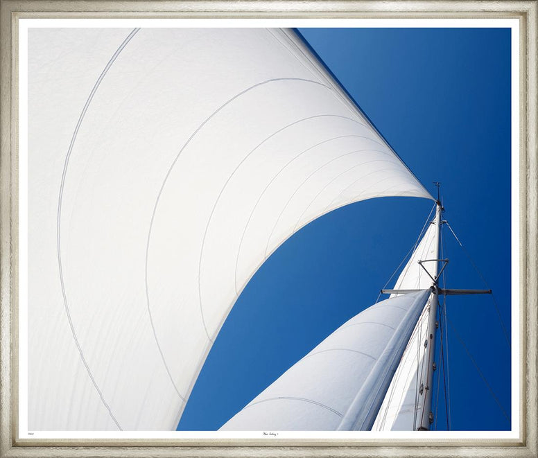 large yacht sails print